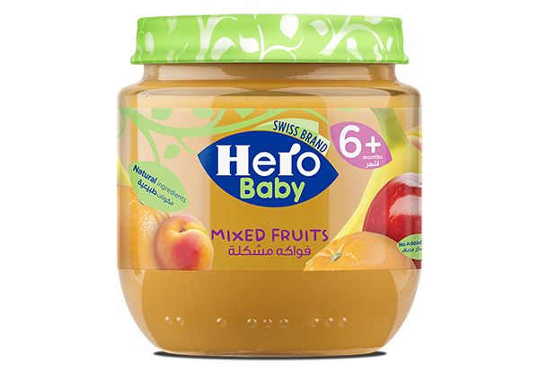 Hero baby , jars , baby food