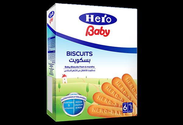 Hero baby biscuits