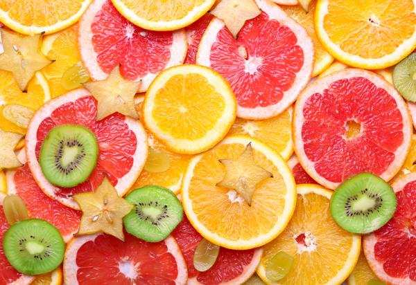 Healthy Fruit slices