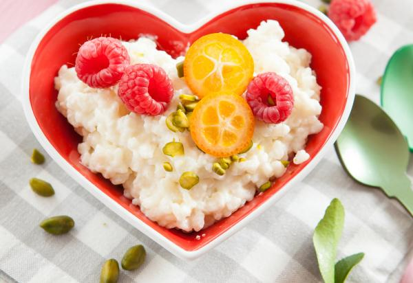Fruity Rice Pudding