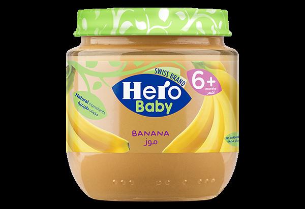 Banana , Hero Baby , Baby Food