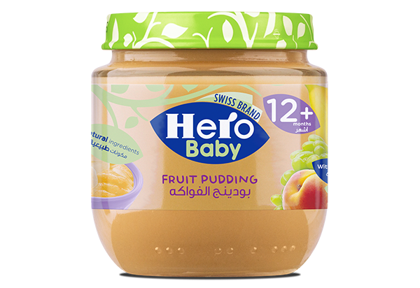 Fruit Pudding, Hero Baby, Baby Food
